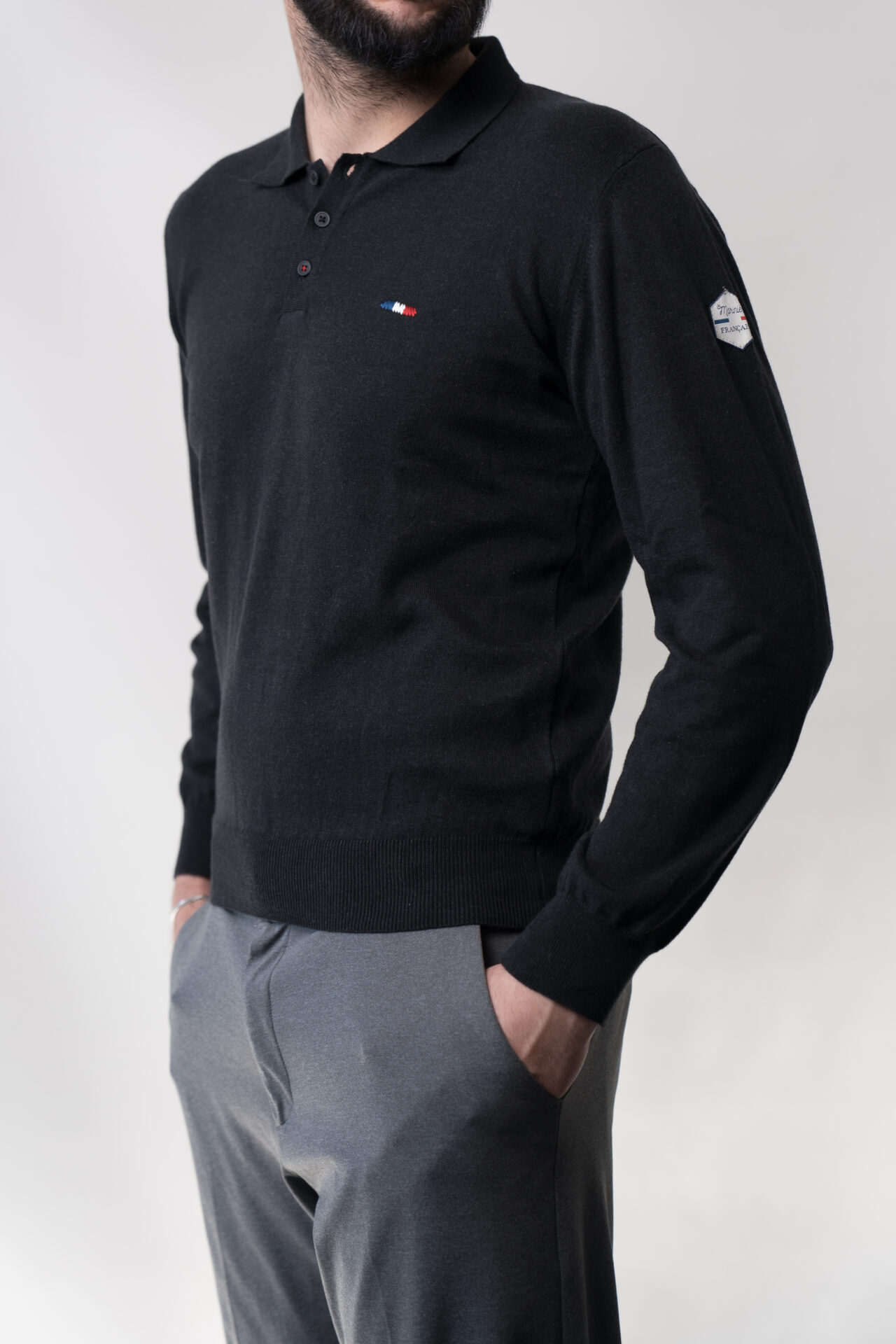 Polo pullover homme