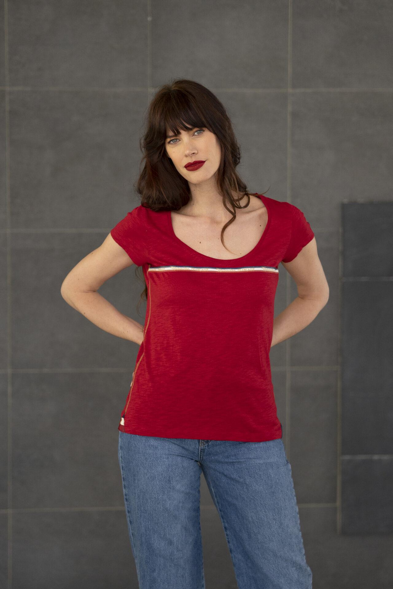Tee-shirt-casual-femme
