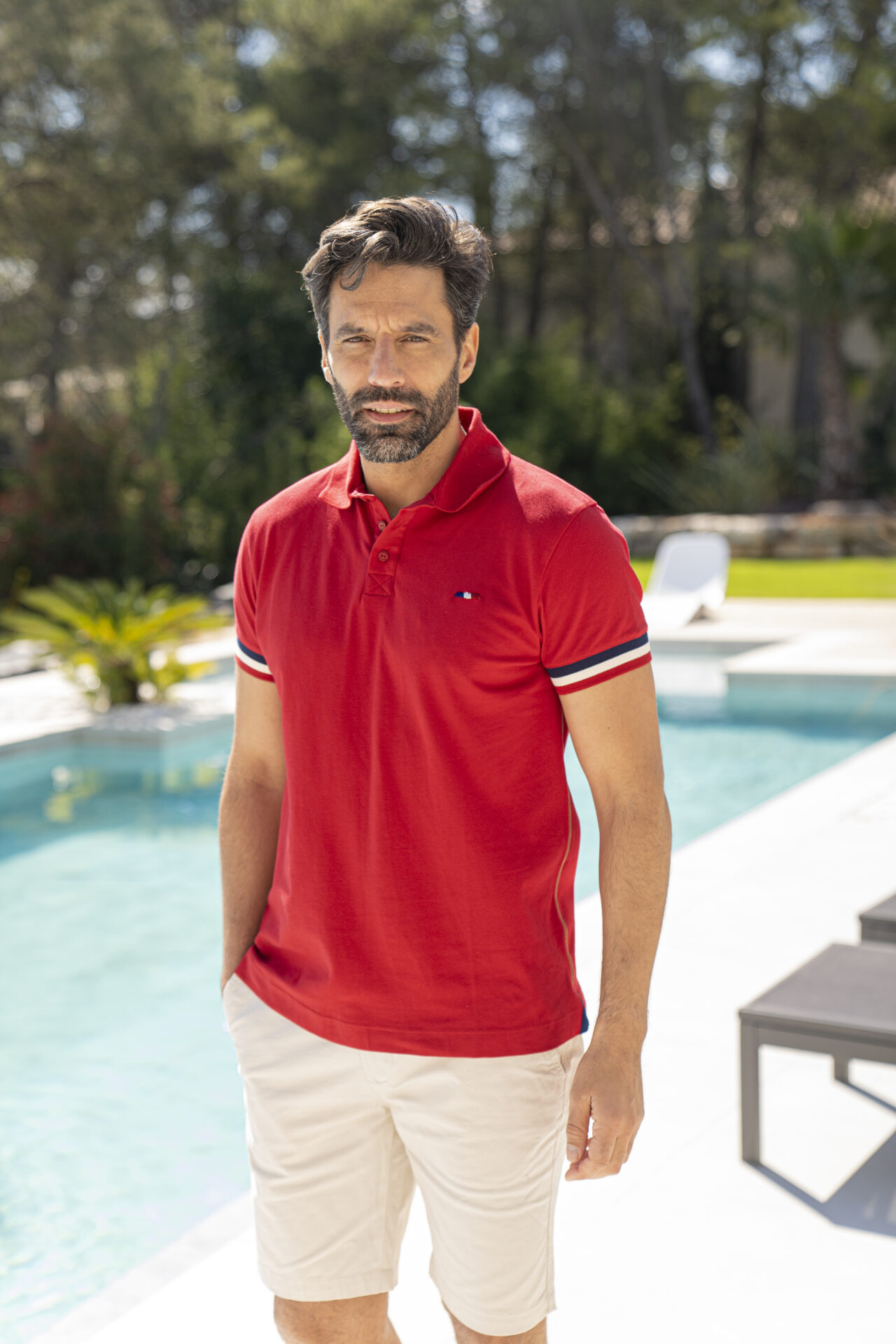 Polo homme manches courte
