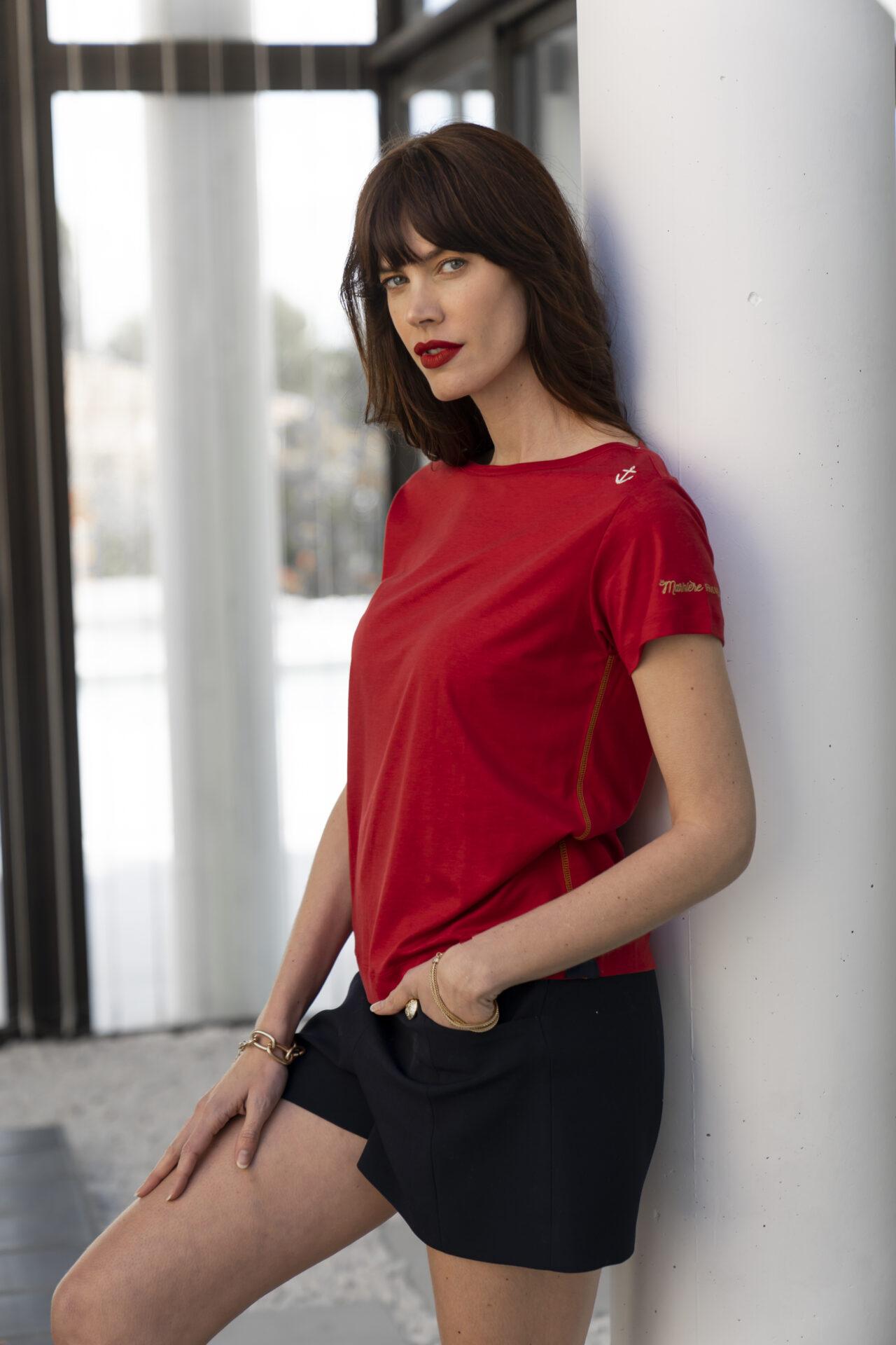 Tee-shirt-chic-femme