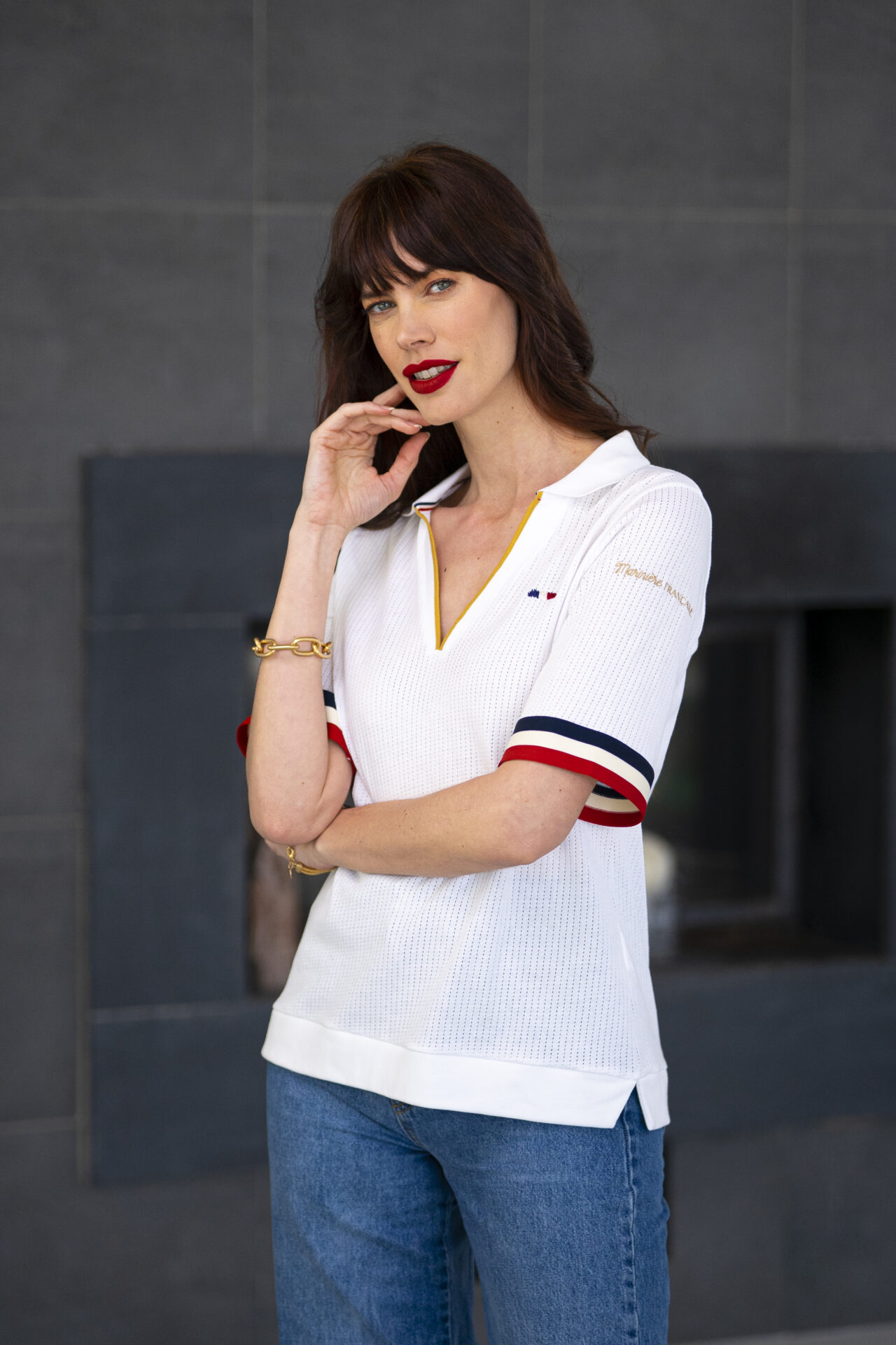 Polo manches courtes Femme